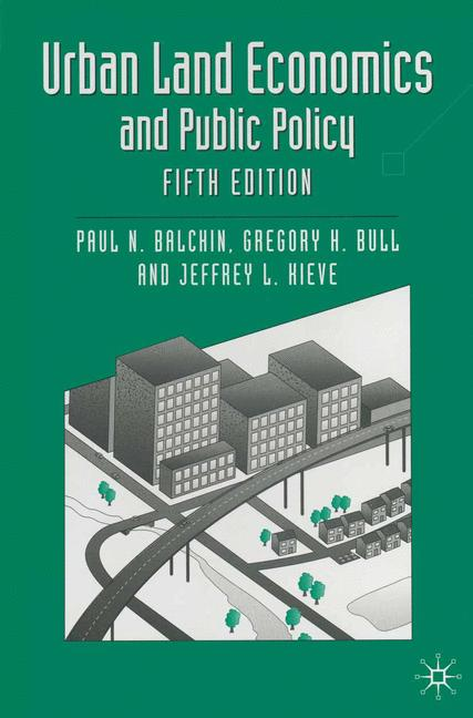 Cover of 'Urban land economics and public policy'