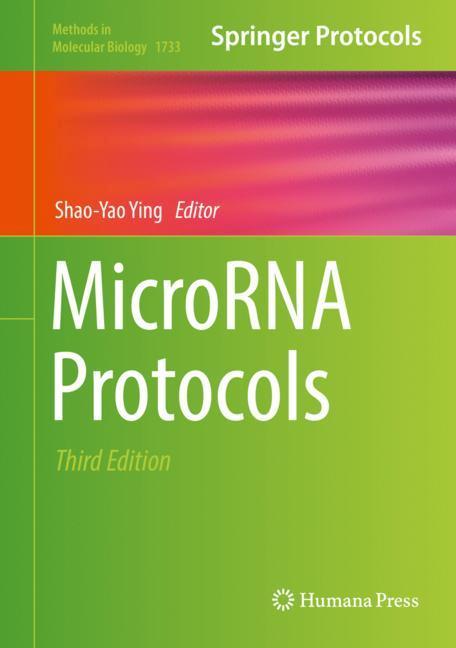 Cover of 'MicroRNA Protocols'