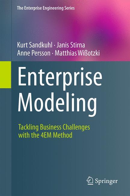 Cover of 'Enterprise Modeling'