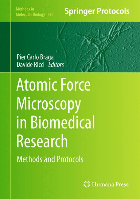 Cover of 'Atomic Force Microscopy in Biomedical Research'