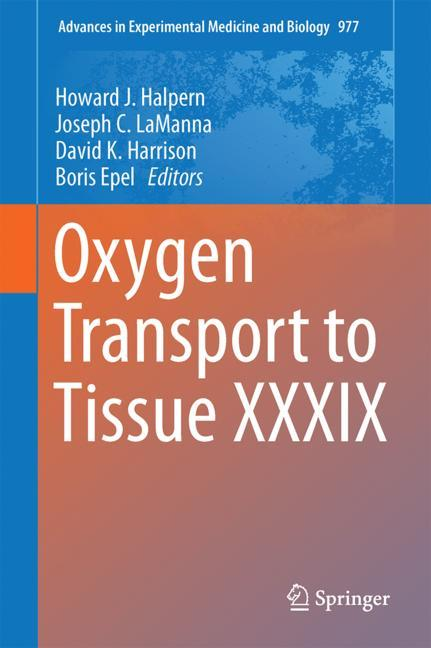 Cover of 'Oxygen Transport to Tissue XXXIX'