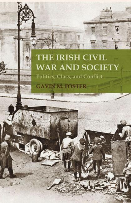 Cover of 'The Irish Civil War and Society'