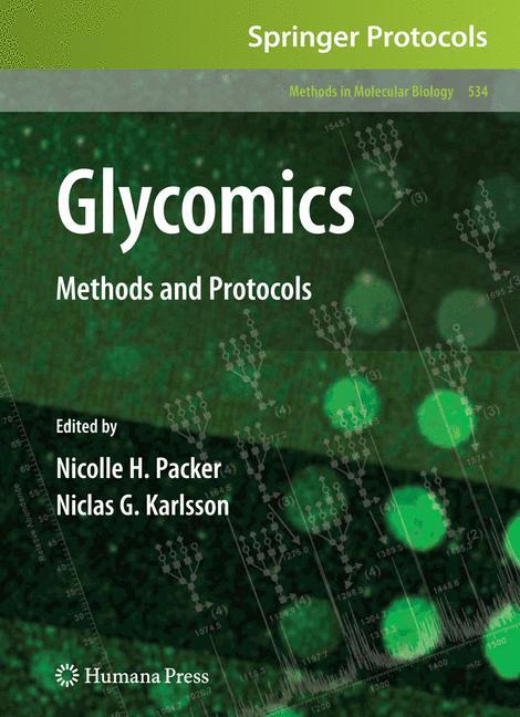 Cover of 'Glycomics'