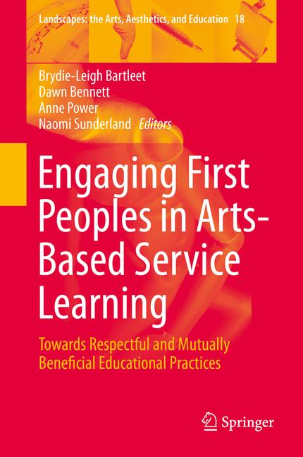 Cover of 'Engaging First Peoples in Arts-Based Service Learning'