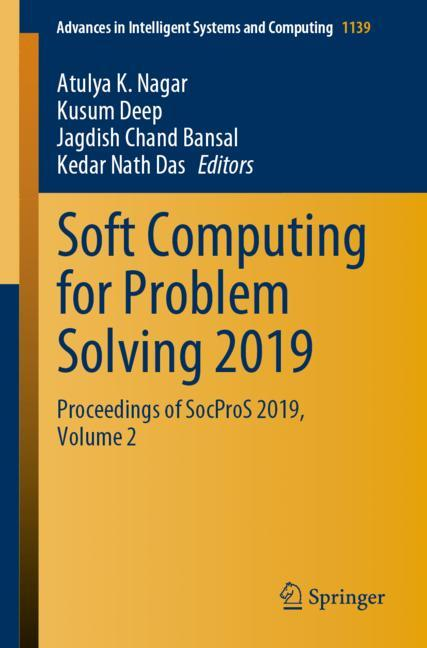 Cover of 'Soft Computing for Problem Solving 2019'