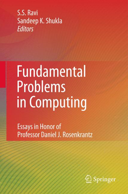 Cover of 'Fundamental Problems in Computing'