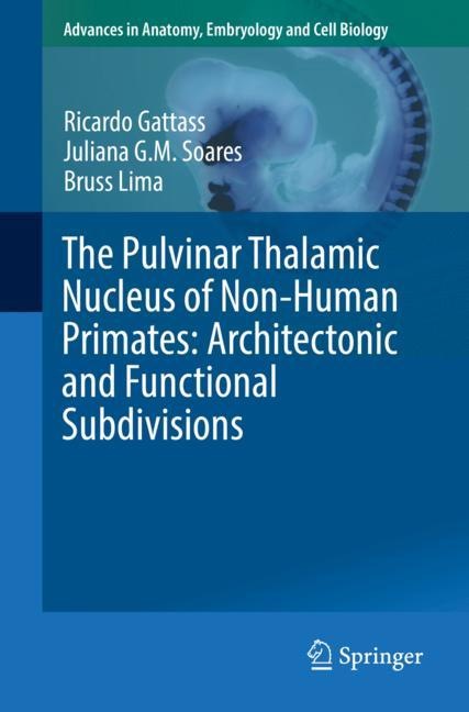 Cover of 'The Pulvinar Thalamic Nucleus of Non-Human Primates: Architectonic and Functional Subdivisions'