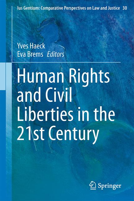 Cover of 'Human Rights and Civil Liberties in the 21st Century'