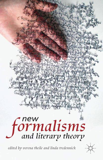 Cover of 'New Formalisms and Literary Theory'