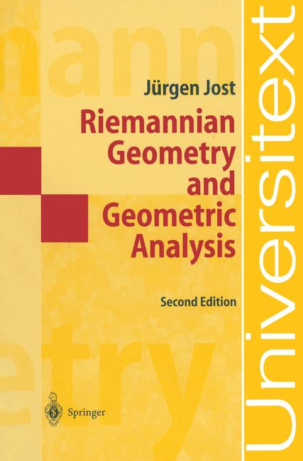 Cover of 'Riemannian Geometry and Geometric Analysis'