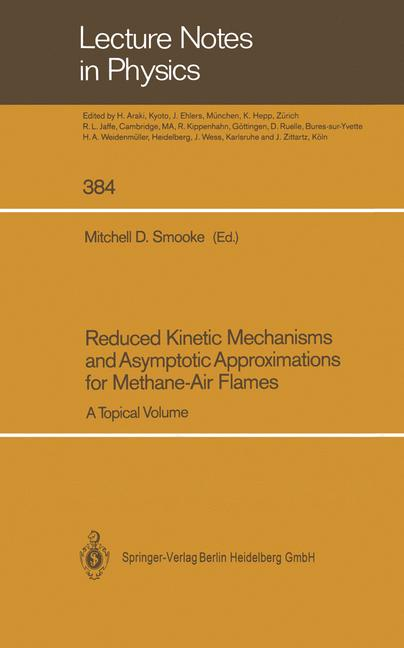 Cover of 'Reduced Kinetic Mechanisms and Asymptotic Approximations for Methane-Air Flames'