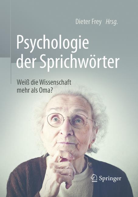 Cover of 'Psychologie der Sprichwörter'