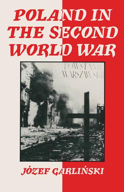 Cover of 'Poland in the Second World War'