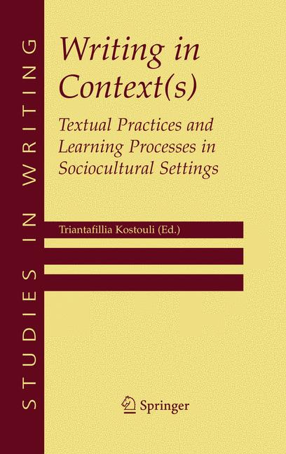 Cover of 'Writing in Context(s)'