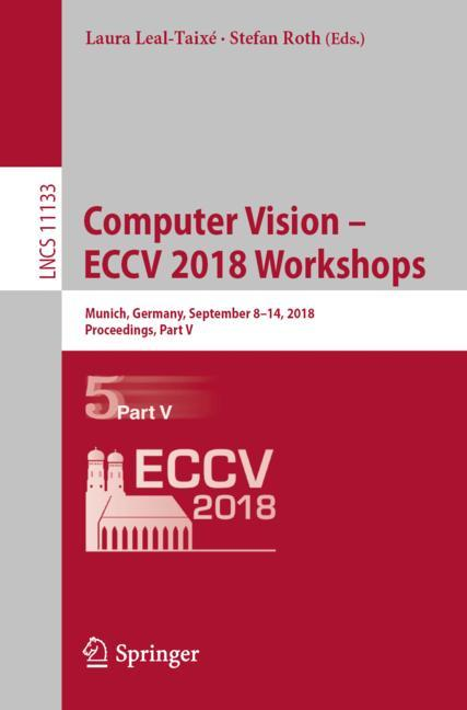 Cover of 'Computer Vision – ECCV 2018 Workshops'