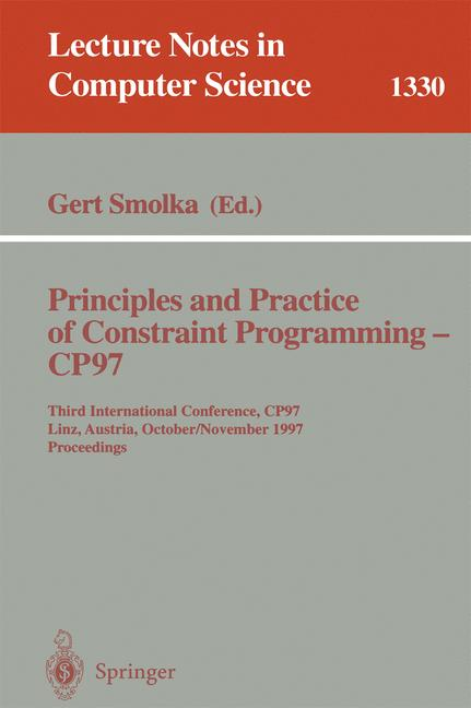Cover of 'Principles and Practice of Constraint Programming-CP97'