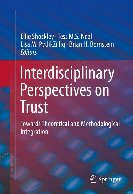 Cover of 'Interdisciplinary Perspectives on Trust'