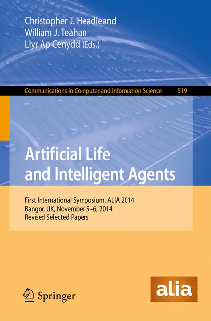 Cover of 'Artificial Life and Intelligent Agents'