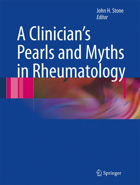 Cover of 'A Clinician's Pearls and Myths in Rheumatology'
