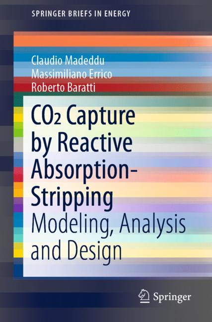 Cover of 'CO2 Capture by Reactive Absorption-Stripping'
