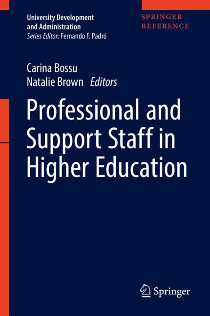 Cover of 'Professional and Support Staff in Higher Education'