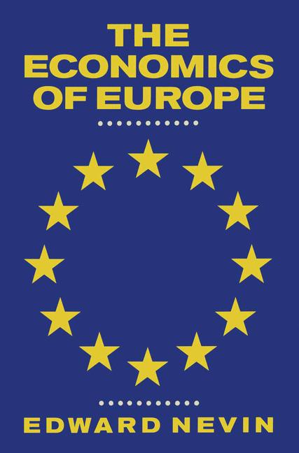 Cover of 'The economics of Europe'