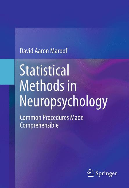 Cover of 'Statistical Methods in Neuropsychology'