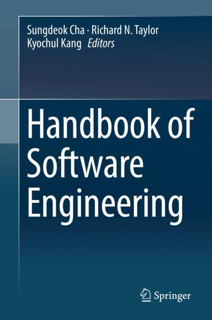 Cover of 'Handbook of Software Engineering'