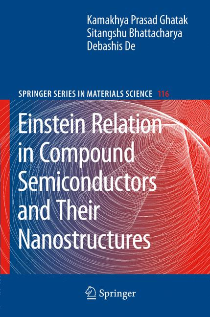 Cover of 'Einstein Relation in Compound Semiconductors and their Nanostructures'