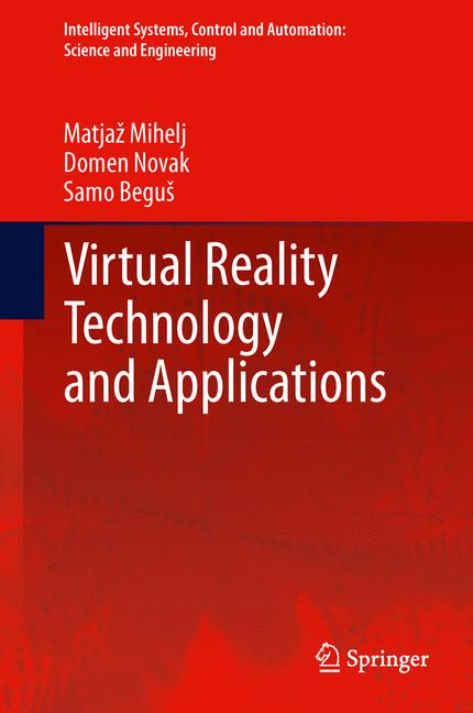 Cover of 'Virtual Reality Technology and Applications'