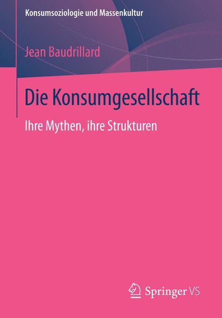 Cover of 'Die Konsumgesellschaft'