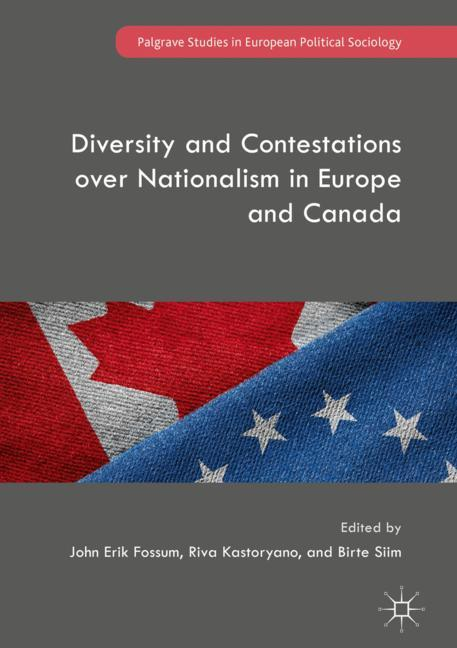 Cover of 'Diversity and Contestations over Nationalism in Europe and Canada'