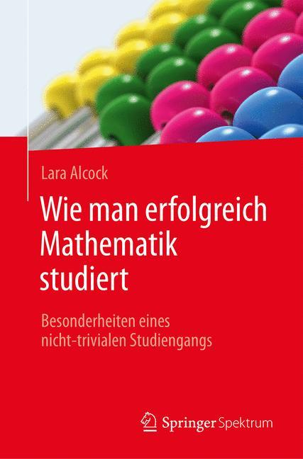 Cover of 'Wie man erfolgreich Mathematik studiert'