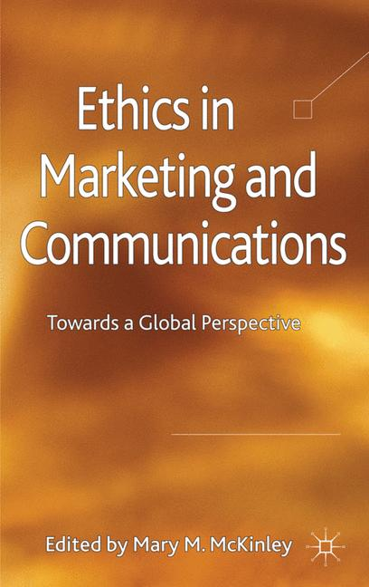 Cover of 'Ethics in Marketing and Communications'
