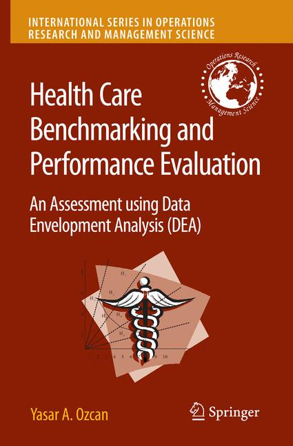 Cover of 'Health Care Benchmarking and Performance Evaluation'