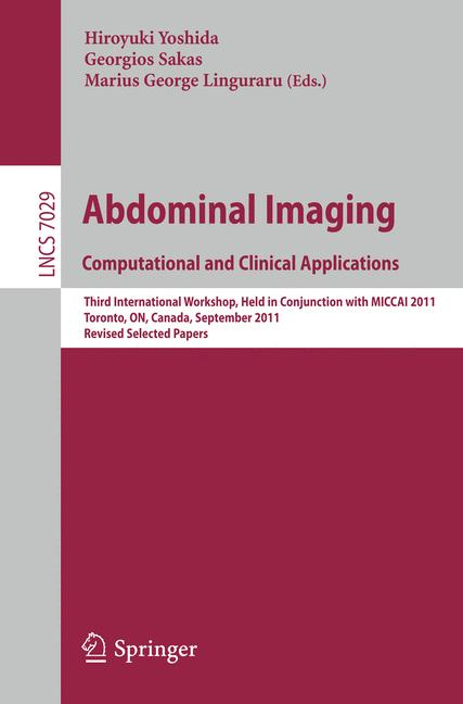 Cover of 'Abdominal Imaging. Computational and Clinical Applications'
