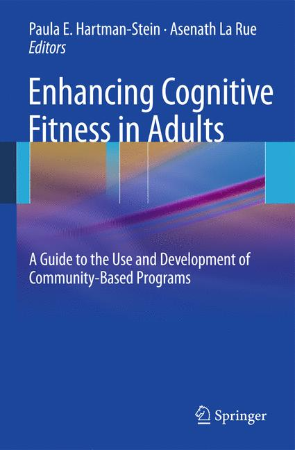 Cover of 'Enhancing Cognitive Fitness in Adults'