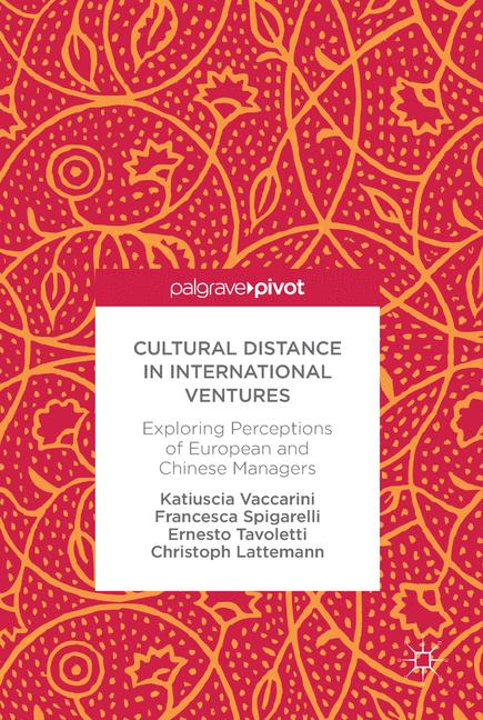 Cover of 'Cultural Distance in International Ventures'