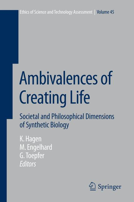 Cover of 'Ambivalences of Creating Life'