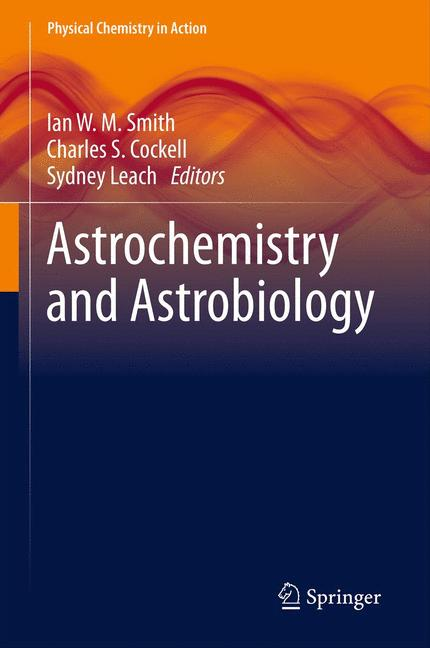Cover of 'Astrochemistry and Astrobiology'