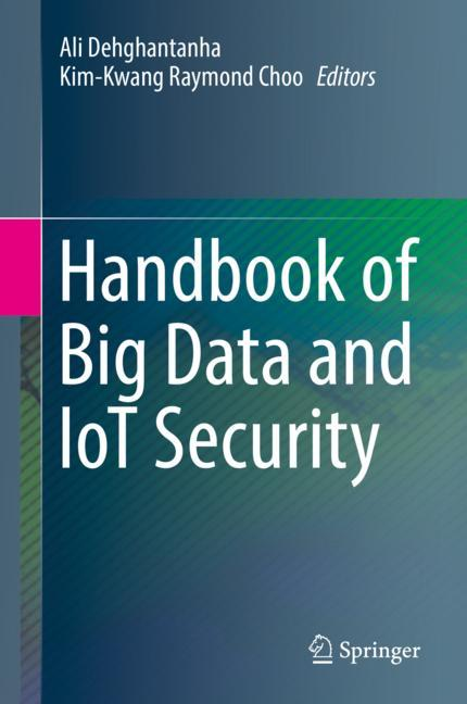 Cover of 'Handbook of Big Data and IoT Security'