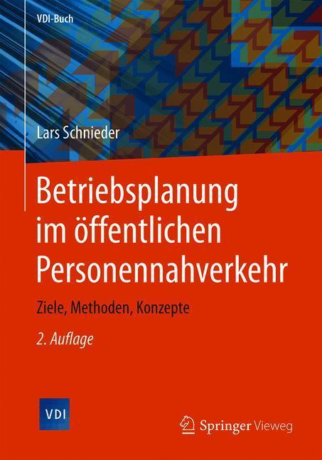 Cover of 'Betriebsplanung im öffentlichen Personennahverkehr'