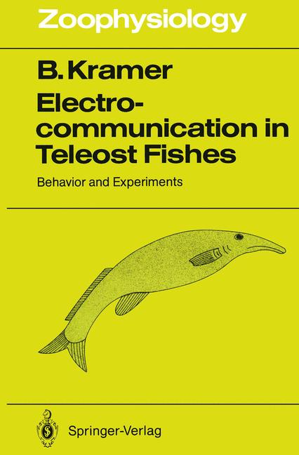 Cover of 'Electrocommunication in Teleost Fishes'