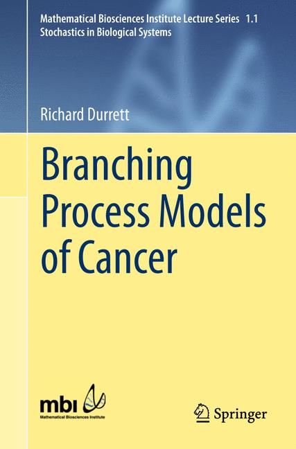 Cover of 'Branching Process Models of Cancer'