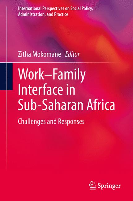 Cover of 'Work–Family Interface in Sub-Saharan Africa'