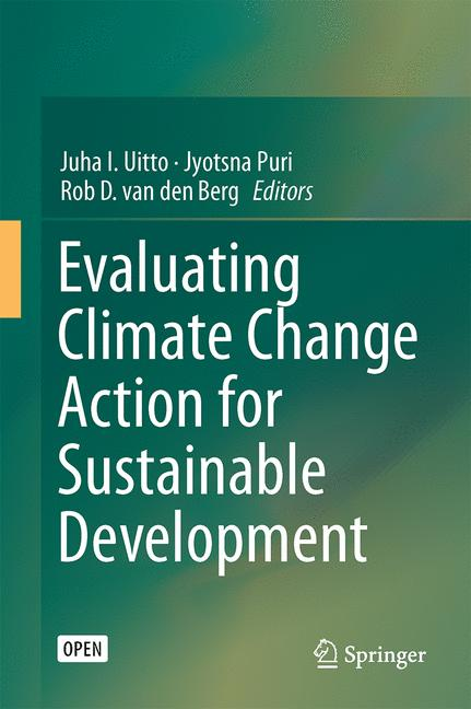 Cover of 'Evaluating Climate Change Action for Sustainable Development'