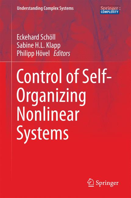 Cover of 'Control of Self-Organizing Nonlinear Systems'
