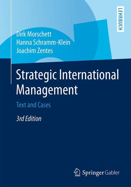 Cover of 'Strategic International Management'