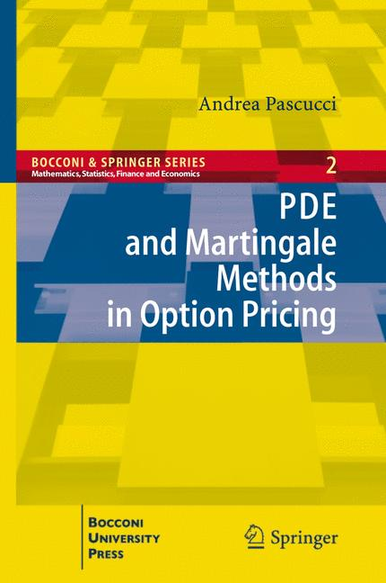 Cover of 'PDE and Martingale Methods in Option Pricing'