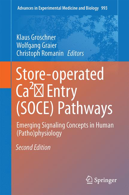 Cover of 'Store-Operated Ca²⁺ Entry (SOCE) Pathways'